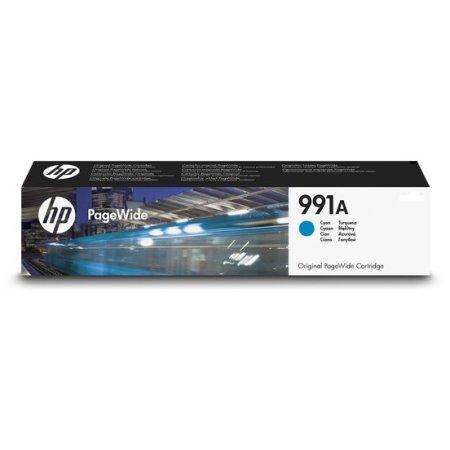 HP 991A azurová PageWide Cartridge, M0J74AE