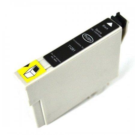 Epson T1281 - kompatibilní black cartridge s čipem