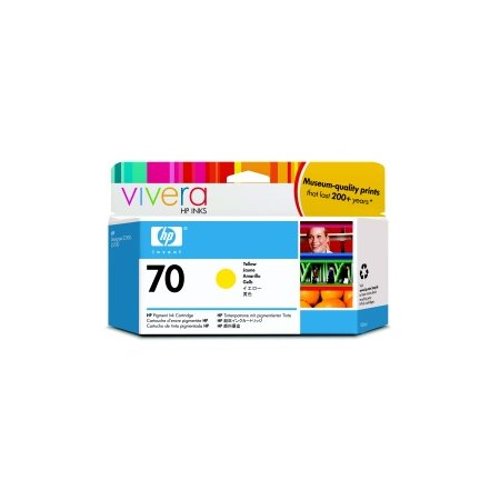 HP no 70 žlutá inkoustová kazeta, C9454A