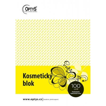 Kosmetický blok Karbon A5 propisovací