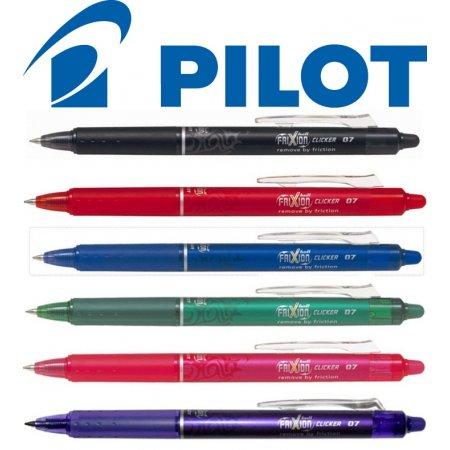 Přepisovatelný roller Pilot Frixion Clicker modrá