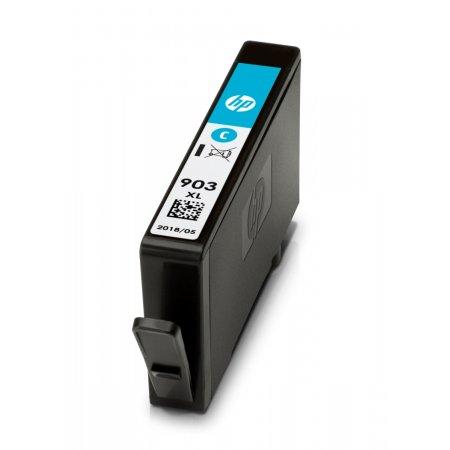 HP 903XL - azurová inkoustová kazeta, T6M03AE