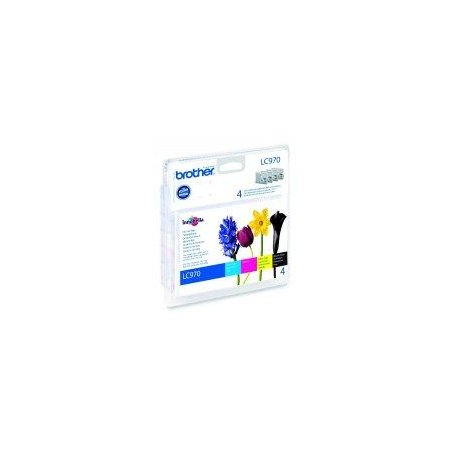 LC-970 VALBP (inkoust multipack-černá+tři barvy)