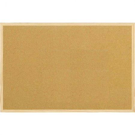 Tabule korková s dřevěným rámem 60 x 90 cm