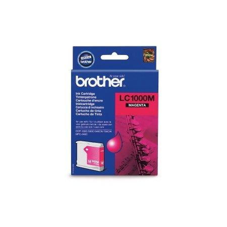 Brother LC-1000M - inkoust magenta