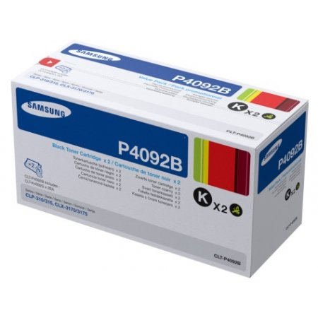 HP/Samsung CLT-P4092B (2x K4092S) Toner Black