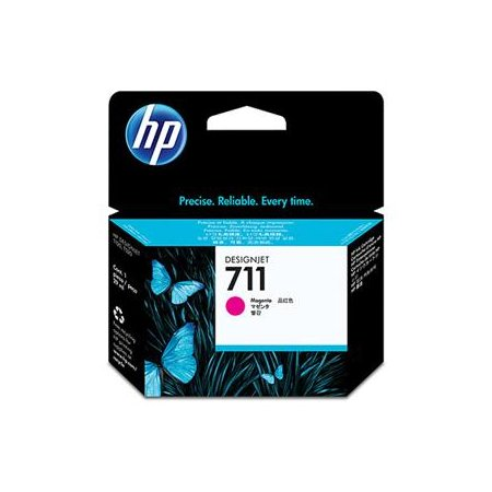 HP no 711 - purpurová inkoustová kazeta, CZ131A