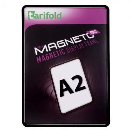 Magneto Solo - magnetický rámeček A2, černý - 2 ks