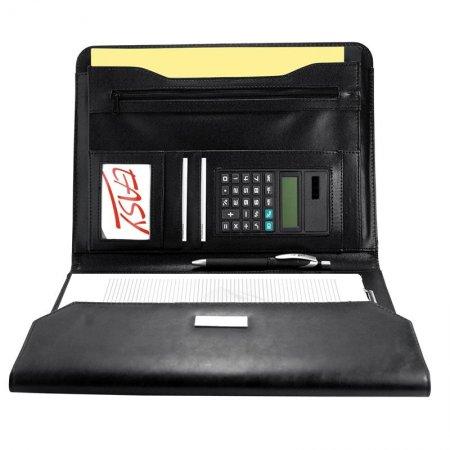 Desky A4 s klopou, kalkulačkou a blokem