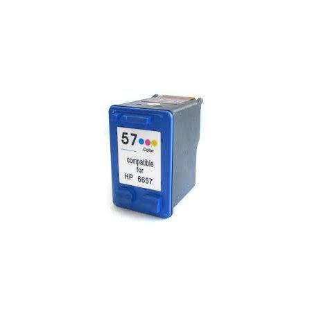 HP C6657A - kompatibilní cartridge s hp 57 color