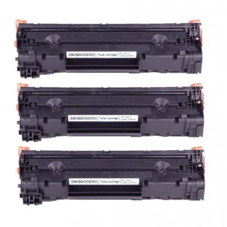 HP CE285A - kompatibilní multibalení 3 ks tonerů, obr. 1