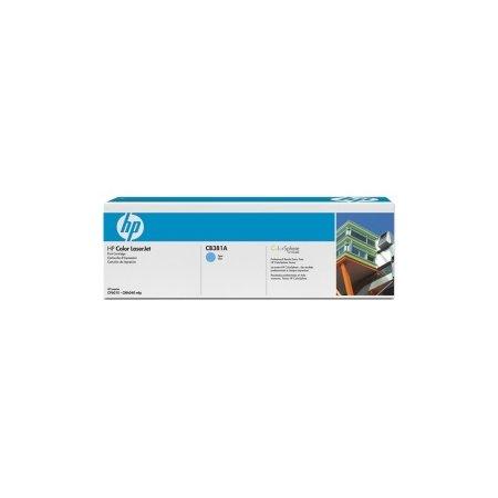 HP tisková kazeta azurová, CB381A