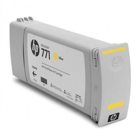 HP CE040A - kompatibilní cartridge s hp 771 žlutá pro HP DesignJet Z6200