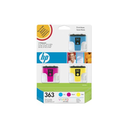 HP 363 - 3 ink pack, CB333EE