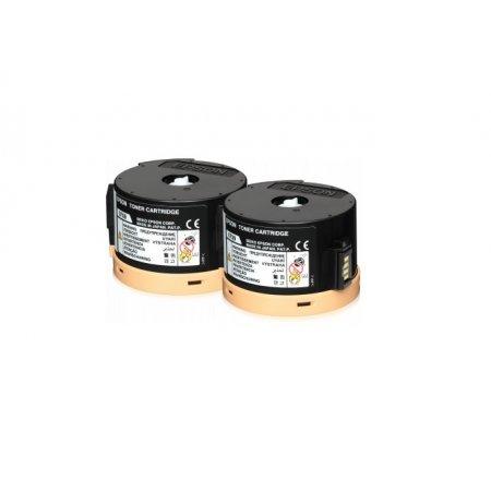 EPSON Toner černý pro AL-M200/MX200,RETPack2x2500s