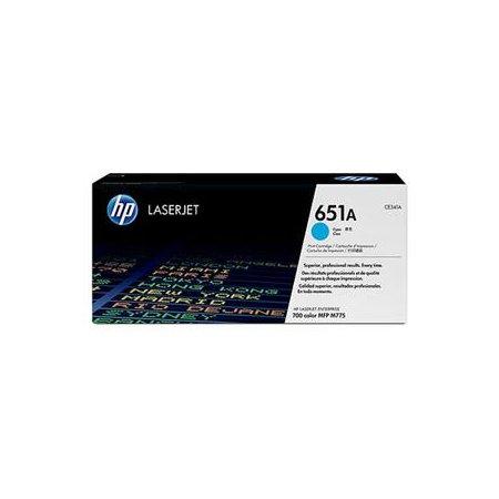 HP tisková kazeta azurová, CE341A
