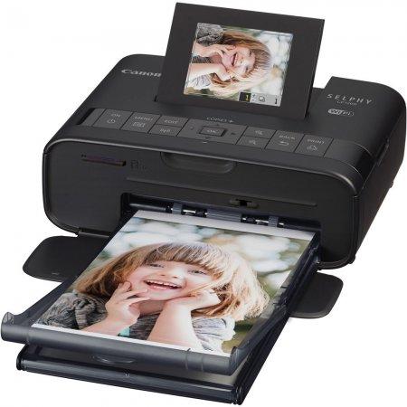 Canon Selphy CP1200 černá + 54 papírů