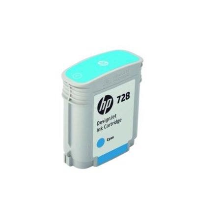 HP no 728 40-ml azurová ink. kazeta