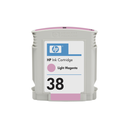 HP 38 - sv. purpurová ink. kazeta, C9419A