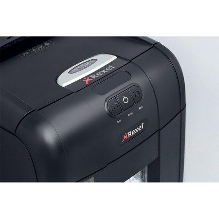 Skartovač REXEL Auto+ 130X s automatickým podavačem, řez 4x40 mm