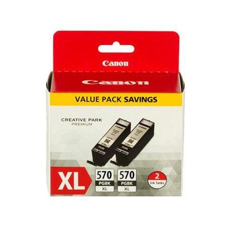 Canon PGI-570XL PGBK, 2-pack černý velký