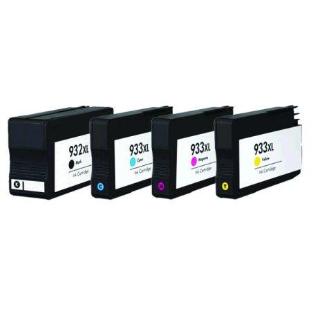 HP CN053A+CN054A, CN055A, CN056A - kompatibilní sada 932XL+ 933XL CMY s čipy