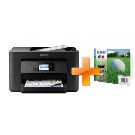 WorkForce Pro WF-3720DWF + sada inkoustů 34