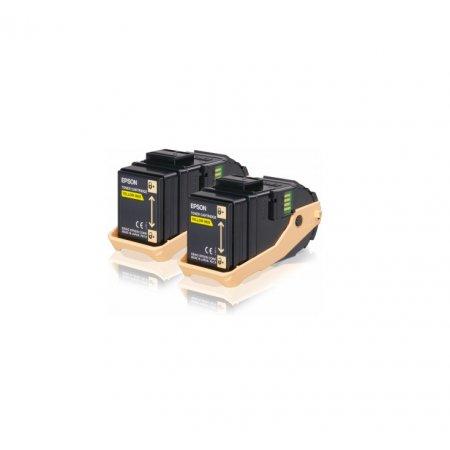 EPSON Yellow Double Pack toner AL-C9300N 7,5K x2