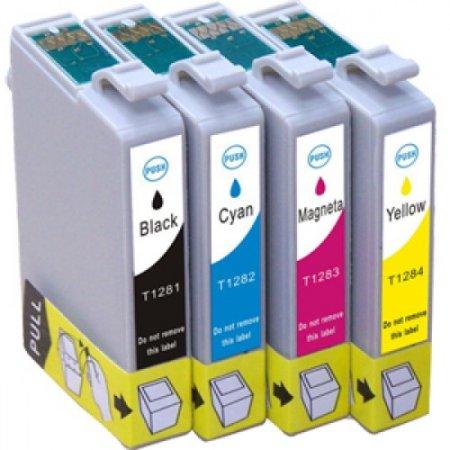 Epson T1285 - kompatibilní značkový multipack Topprint, CMYK s čipy, 100% nové cartridge