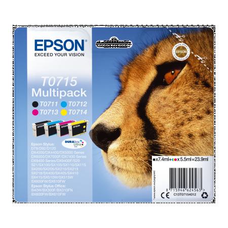 Epson Multipack 4-colours T0715 DURABrite UltraInk