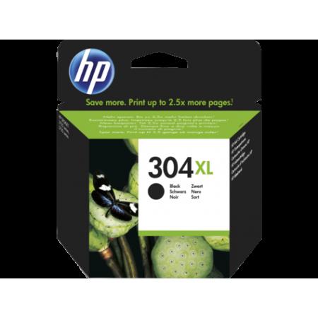 HP 304XL Black Original Ink Cartridge, N9K08AE