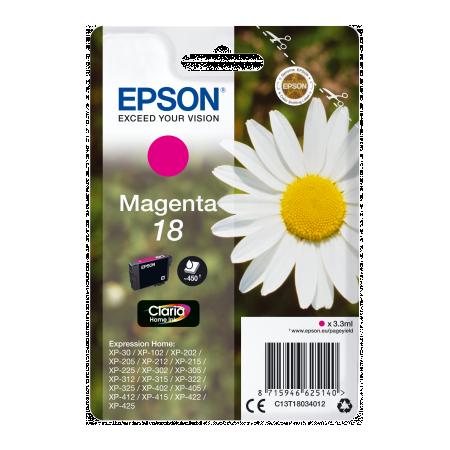 Epson Singlepack Magenta 18 Claria Home Ink