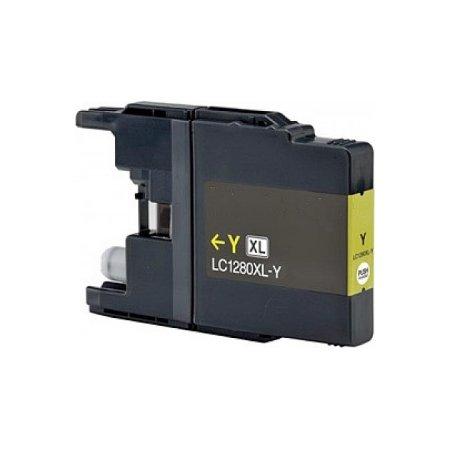 Brother LC1280XLY -kompatibilní cartridge žlutá