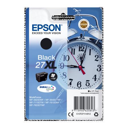 Epson Singlepack Black 27XL DURABrite Ultra Ink