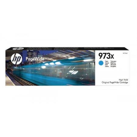 HP 973X azurová inkoustová kazeta, F6T81AE