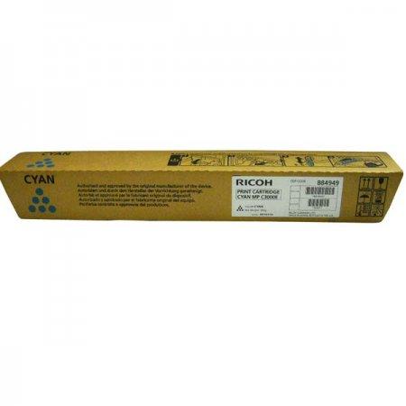 Ricoh originál toner 888643, 884949, 842033, modrá, 15000str., MPC 2000, MPC 2500