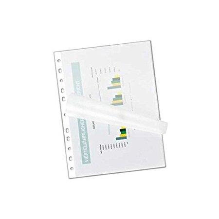 Laminovací fólie s euroděrováním A4, 100 ks, 100 mic