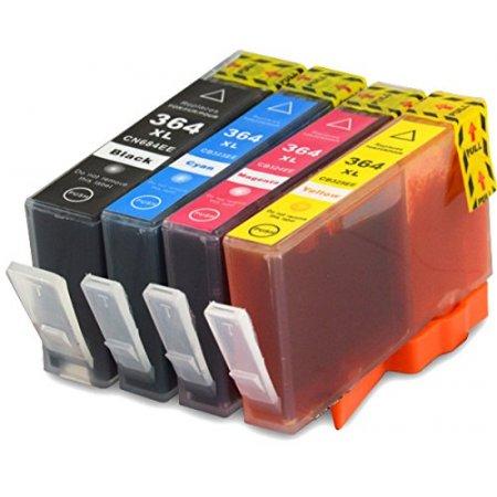HP 364XL - kompatibilní multibalení 4 barvy s plně funkčními čipy, Topprint