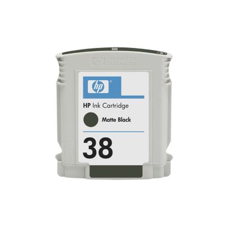 HP 38 - matná černá ink. kazeta, C9412A