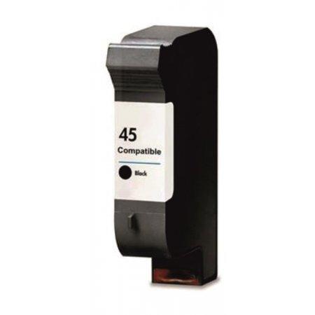 HP 51645A - kompatibilní cartridge s hp 45, černá