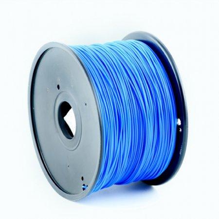 GEMBIRD Struna pro 3D tisk, PLA, 1,75mm, 1kg, 330m, modrá, obr. 1