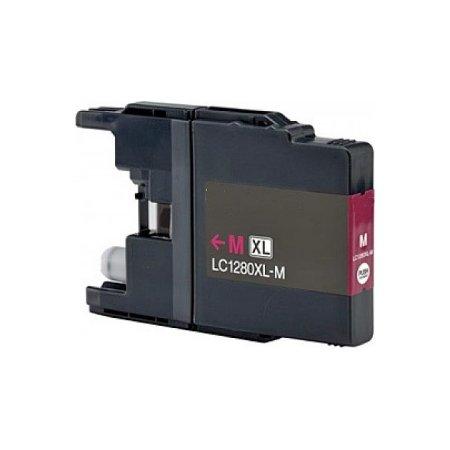 Brother LC1280XLM -kompatibilní cartridge červená