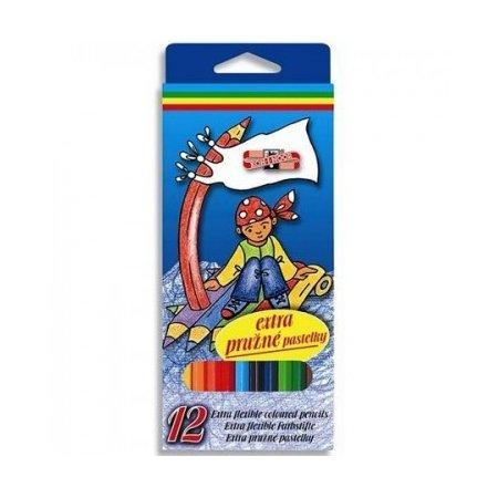 Pastelky extra pružné 12 barev Koh-i-noor