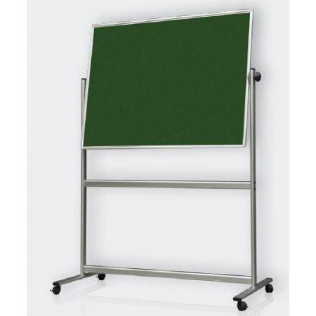 Oboustranná zelená tabule 180x120cm se sklokeramickou deskou pro popis křídou