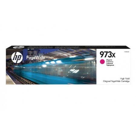 HP 973X purpurová inkoustová kazeta, F6T82AE