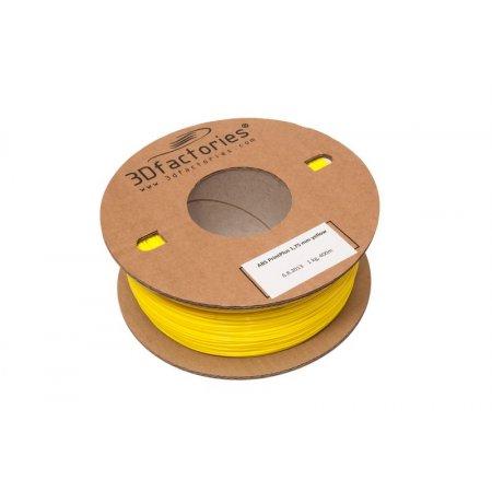 3D Factories tisková struna ABS žlutá 1,75 mm 1 Kg