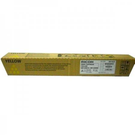 Ricoh originální toner 841425, yellow, 16000str., 842044, MP C2800, 3300, 3001, 3501