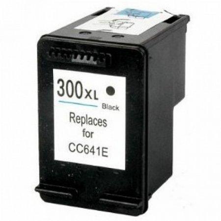 HP CC641E - kompatibilní cartridge s hp 300XL černá