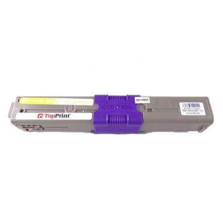 OKI 44469704 - kompatibilní toner C310, C510, Topprint žlutá na 2000kopií