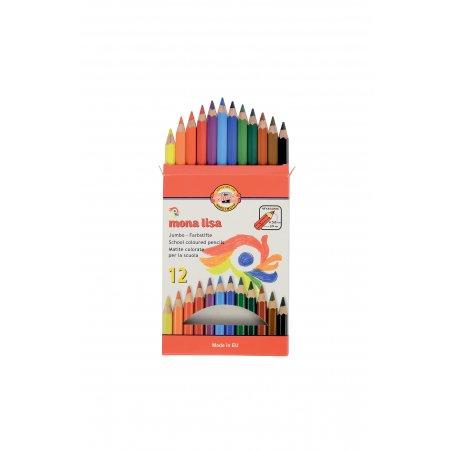 Pastelky Koh-i-noor 3372/12 Mona Lisa, 12 barev